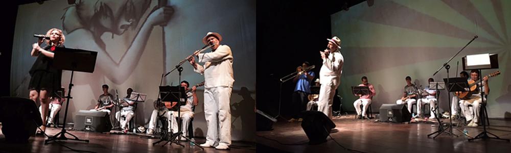 Show Pelo Telefone - 100 Anos de Samba -Teatro Gazômetro
